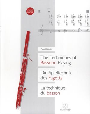 Techniques Of Bassoon Playing