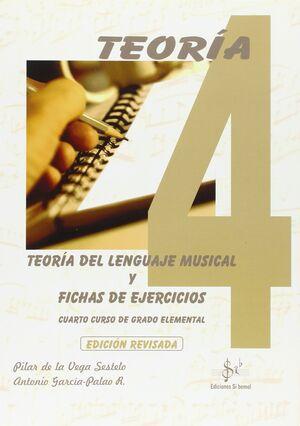 TEORÍA DEL LENGUAJE MUSICAL Y FICHAS DE EJERCICIOS VOL.4