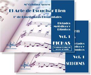 El Arte de Escuchar Bien 1º de Enseñanzas Elementales