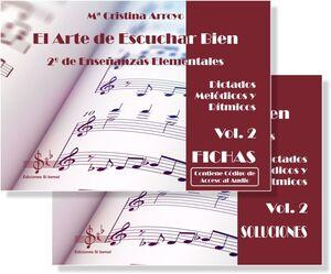 El Arte de Escuchar Bien 2º de Enseñanzas Elementales