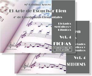 El Arte de Escuchar Bien 4º de Enseñanzas Elementales