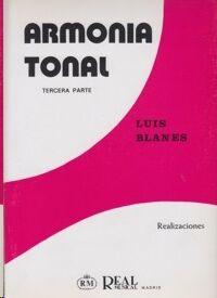 Armonía Tonal, 3 - Realizaciones