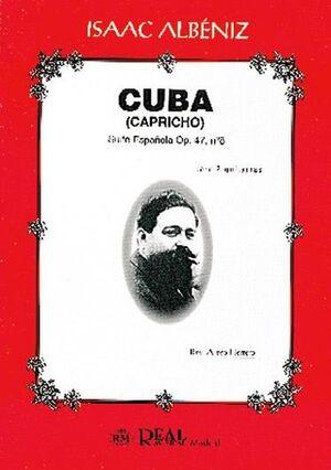 Cuba, Suite Española Op..47 No.8 para 2 Guitarras