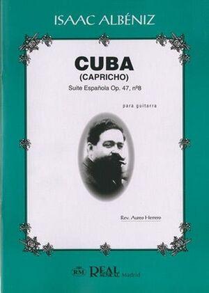 Cuba, Suite Española Op.47 No.8 para Guitarra
