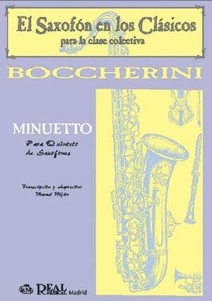 Minuetto para Quinteto de Saxofones