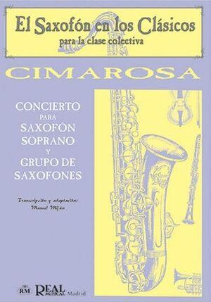 Concierto par Saxofón Soprano y Grupo de Saxofones