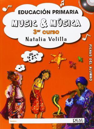 Music & Música, Volumen 3 (Alumno)