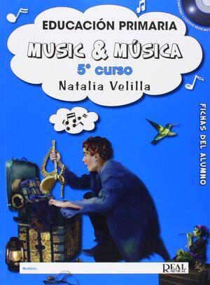 Music & Música Vol.5 - Fichas Del Alumno