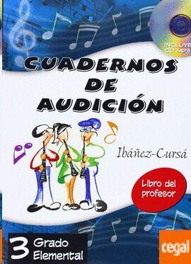 Cuadernos De Audición Vol. 3: Profesor