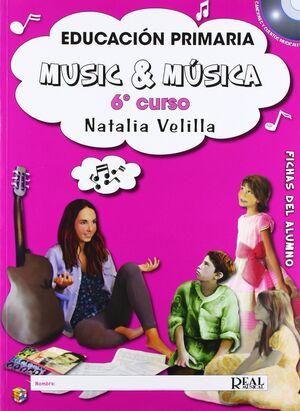 Music & Música Vol. 6: Fichas Del Alumno