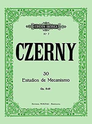 30 Estudios de mecanismo Op.849