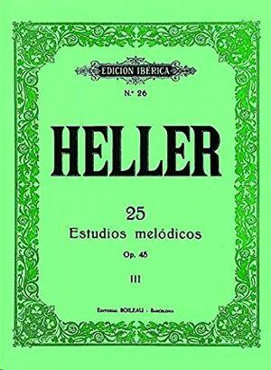 25 Estudios melódicos Op.45