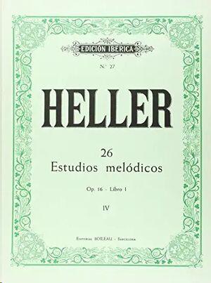 26 Estudios melódicos op. 16 - Libro I