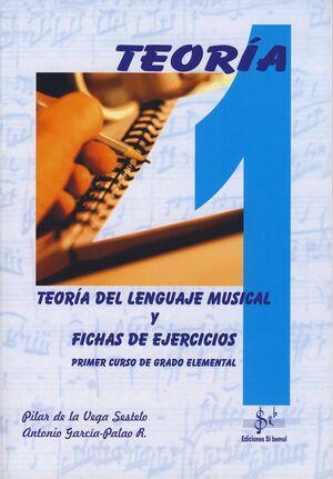 TEORÍA DEL LENGUAJE MUSICAL Y FICHAS DE EJERCICIOS VOL.1
