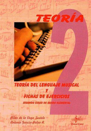 TEORÍA DEL LENGUAJE MUSICAL Y FICHAS DE EJERCICIOS VOL.2