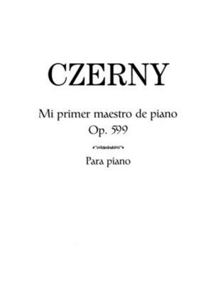 Mi Primer Maestro de Piano, Op.599