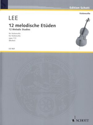 12 Melodic Studies op. 113