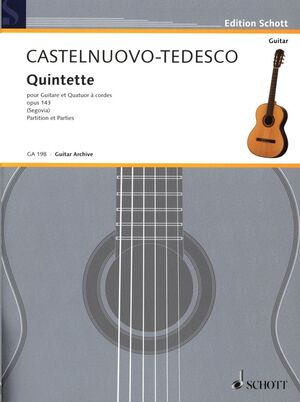 Quintet F major op. 143