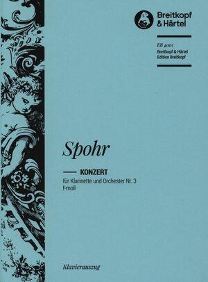 Clarinet Concerto No. 3 in F minor