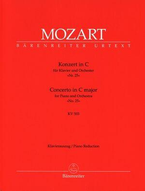 Piano Concerto No.25 In C K.503