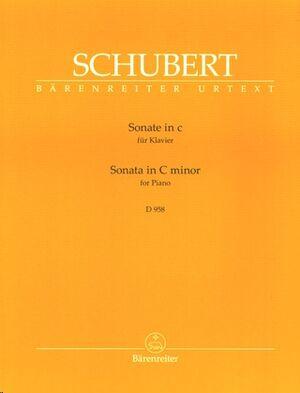 Sonata In C Minor D 958
