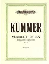 Zehn melodische Etüden op. 57 - Cello
