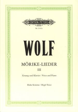 Mörike-Lieder Band 3