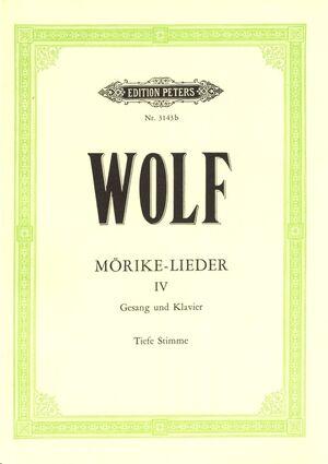 Mörike-Lieder Band 4