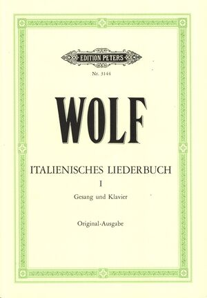 Italienisches Liederbuch Band 1