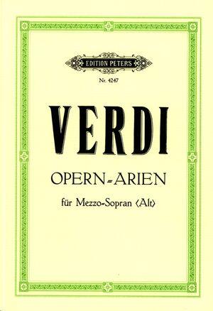 Ausgewählte Opern-Arien für Mezzo-Sopran (Alt)