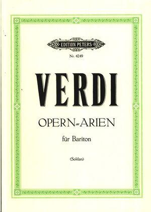 Ausgewählte Opern-Arien für Bariton