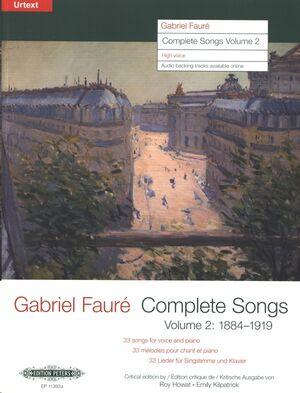 Complete Songs / Sämtliche Lieder, Band 2 (1884–1919)