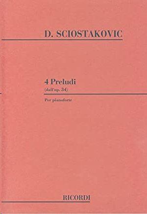4 Preludi Dall'Op. 34