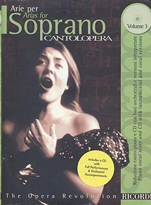 Cantolopera: Arie Per Soprano Vol. 3