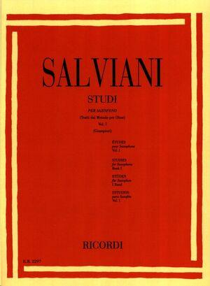 Studi Per Saxofono (Tratti Dal Metodo Per Oboe)