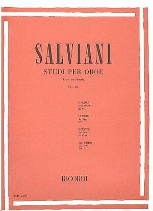 Studi Per Oboe (Tratti Dal Metodo) Vol. 3