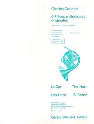 6 Pieces Melodiques Originales Volume 1