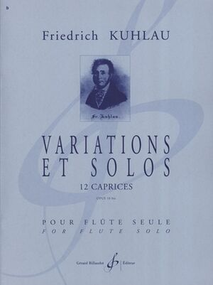 Variations Et Solos 12 Caprices Opus 10 Bis
