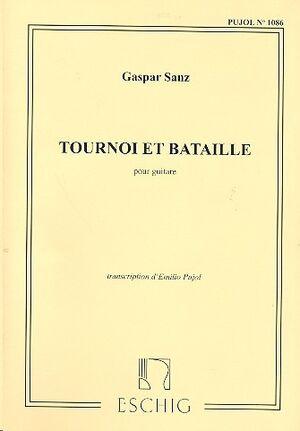 Tournooi Et Bataille, Pour Guitare, Transcription
