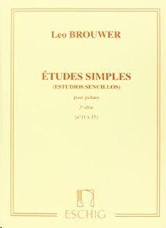 ɐtudes simples - Estudios sencillos (Serie 3)