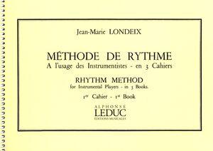 Jean-Marie Londeix: Methode de Rythme Vol.1