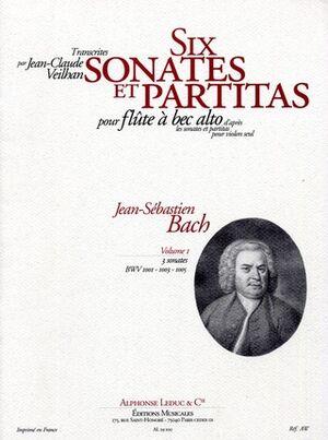 Six Violin Sonatas and Partitas Vol.1