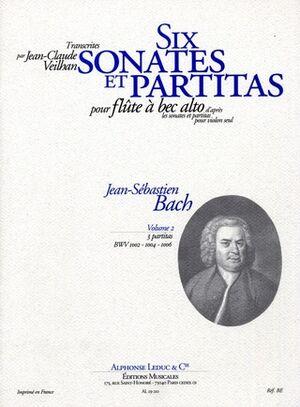 Six Violin Sonatas and Partitas Vol.2