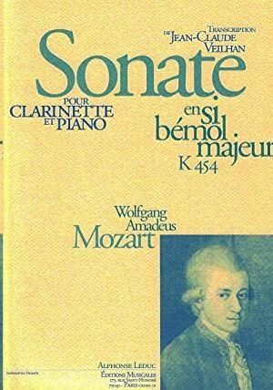 Sonate En Si B'mol Majeur K454