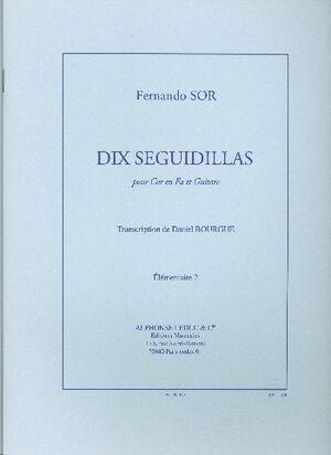 Fernando Sor: 10 Seguidillas