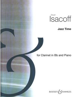 Jazz Time clarinet & keyboard