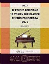 12 Etden op.6 (ex op.1)  fr Klavier Piano