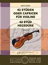 42 Etden oder Capricen Violin