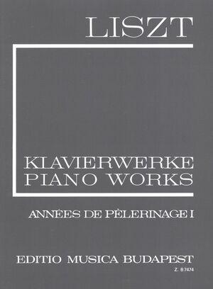 Annees de Pelerinage Band 1 (Schweiz) Piano