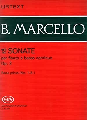 12 Sonate op. 2 Vol. 1 Flute and Piano